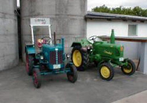 Traktoren-Ausstellung/Historisches Kartoffelernten