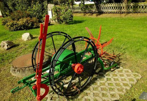 Historische Kartoffelmaschine